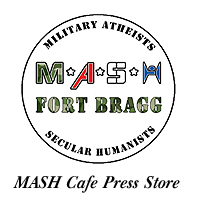Get your MASH logo merchandise at our Cafe Press store!
